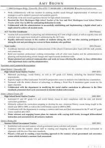 School Counselor Resume by Sle School Counselor Resume Free Resumes Tips