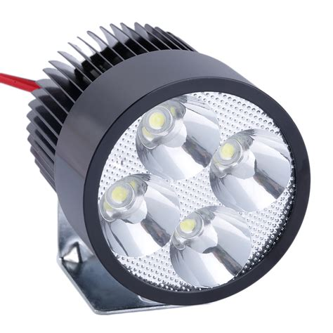 Lu Led Headl Motor allwin 12v 85v 20w bright led spot light l motor bike car motorcycle black