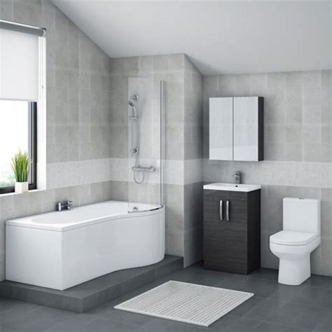 p shaped bathroom suites uk brooklyn hacienda black bathroom suite with b shaped bath online now