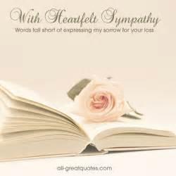 sympathy condolences cards with heartfelt sympathy