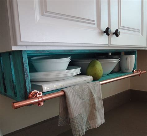kitchen under cabinet storage kitchen shelf custom under cabinet with towel rack storage