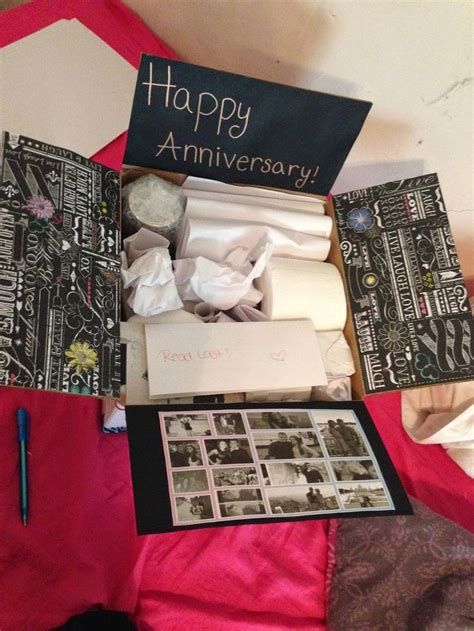 1 Year Anniversary Gifts For Him - one year anniversary gifts for him paper bigoo