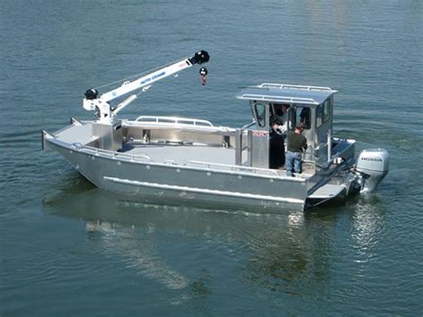 aluminum boats washington state commercial aluminum skiffs and workboats pacific boats
