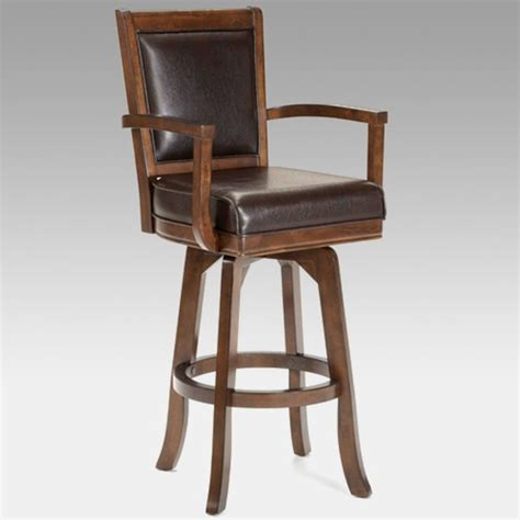 luxury bar stools the hillsdale 30 inch ambassador swivel bar stool is the