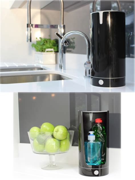 kitchen sink tidies pavara sink tidy aims to keep your kitchen stylish by hiding soaps and sponges the gadgeteer