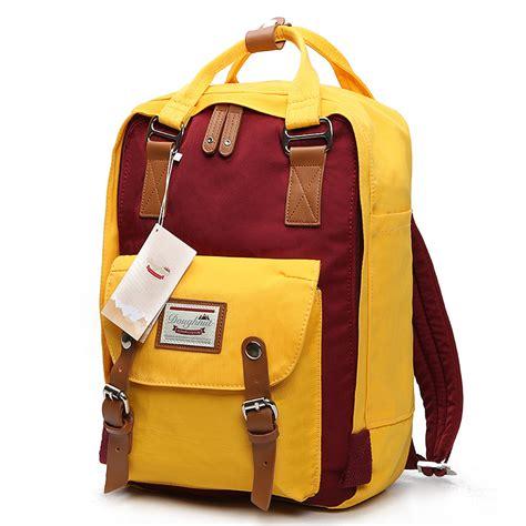 Patchwork Backpack - doughnut patchwork waterproof backpack kwnshop