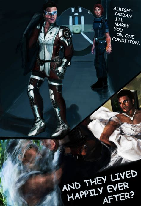 Mass Effect Kink Meme - kaidan that me3 outfit by squidbreath on deviantart