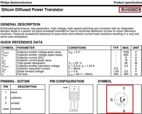 transistor horizontal bu4508dx solucionado tv quema horizontal yoreparo