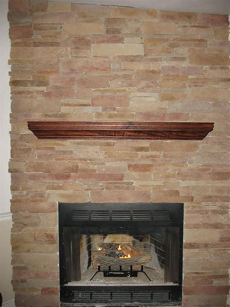 fireplace veneer installation how to use thin veneer on an indoor fireplace