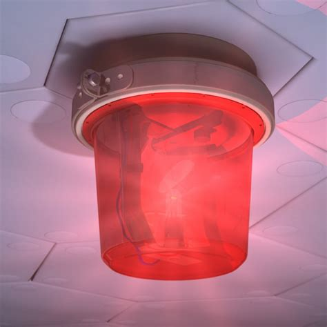 Alarm Light alarm light 3d model