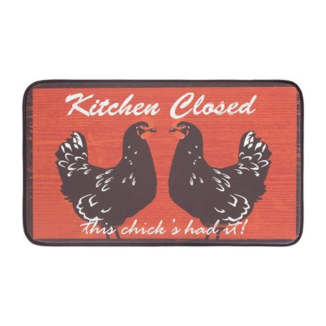 Chef Gear Mat by Chef Gear Kitchen Closed 18 In X 30 In Anti Fatigue Faux