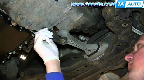 how to replace engine mount on a 2004 bmw 3 series how to install replace rear engine transmission mount 1 8t