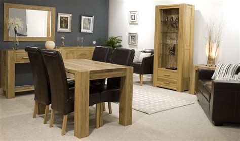 oak livingroom furniture dining room furnish your living and with oak furniture