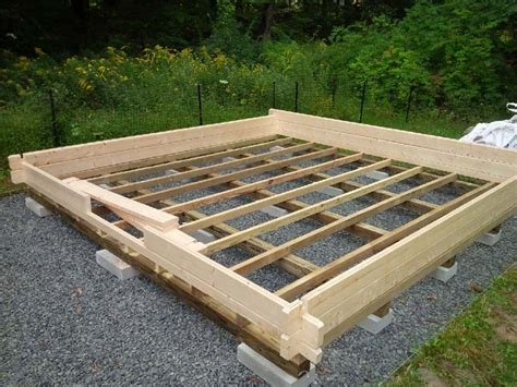 Foundation For Log Cabin by Foundation Bzbcabinsandoutdoors