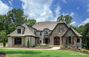 Country Home Designs Floor Plans by Dream House Plans French Country Home Designs