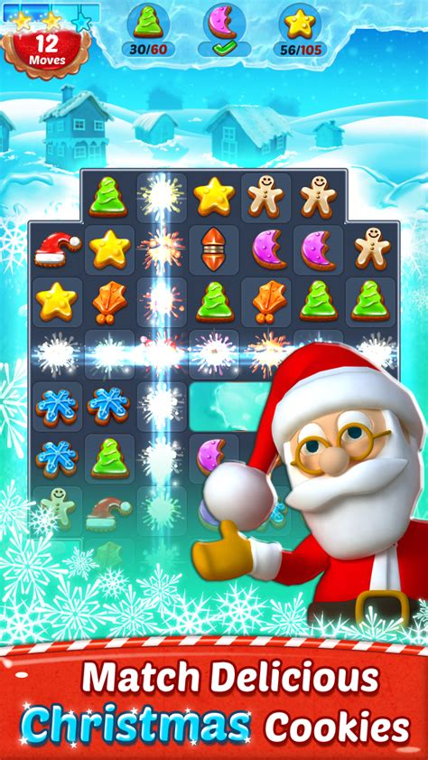 christmas cookie match 3 game app for all new all game app
