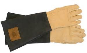 Steel Mesh Patio Furniture Haws Leather Mens Gauntlets Gardening Gloves Handmade
