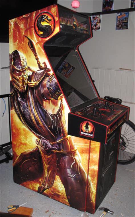 Mortal Kombat Cabinet by Trmk S Mortal Kombat 2011 Launch Day Coverage