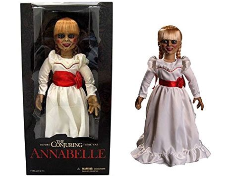 annabelle doll uae mezco toyz the conjuring annabelle doll 18 quot scaled prop
