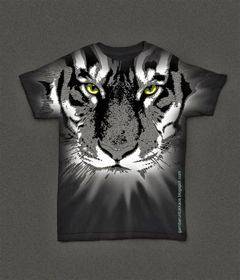 Kaos Cewe Misterius Kata Kata gambar kaos harimau gambar untuk kaos