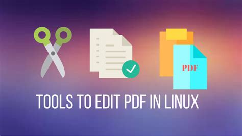 best program to edit pdf 4 best linux pdf editors you can use in 2018