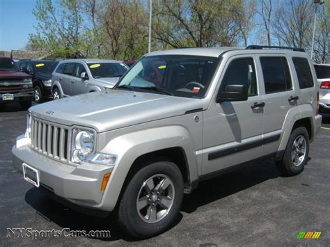 jeep liberty 2008 2008 jeep liberty sport 4x4 in bright silver metallic