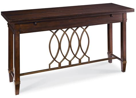 Intrigue Flip Top Sofa Table From Art 161307 2636 Flip Top Sofa Table