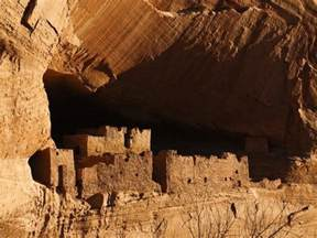 Photographic Wall Murals ancient navajo cliff dwellings in canyon de chelly