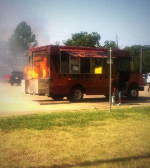 food truck design generator none hurt during denton market food truck generator fire