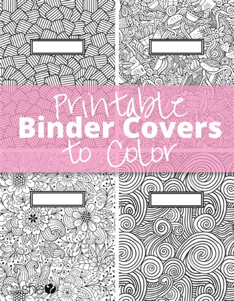 free printable book cover templates printable binder covers to color how does she