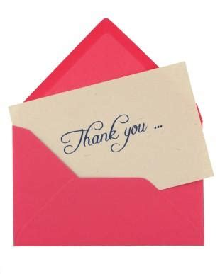 When Do You Send Thank You Cards For Wedding Gifts - do you need to send thank you cards to people who send sympathy notes lovetoknow