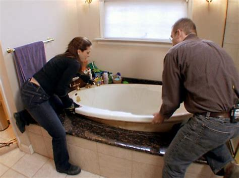 what to use to seal around bathtub how to install a whirlpool bathtub how tos diy