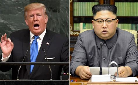 donald trump vs kim jong un donald trump vs kim jong un war of words has everyone