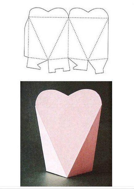 moldes de cajas de regalo triangulares para imprimir moldes de cajas para regalo para imprimir gratis imagui