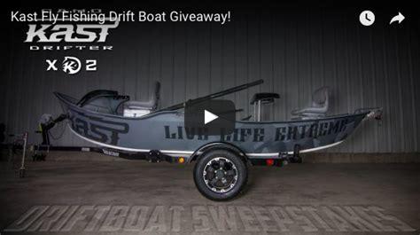 drift boat gear chance to win a hyde drift boat from kast gear the