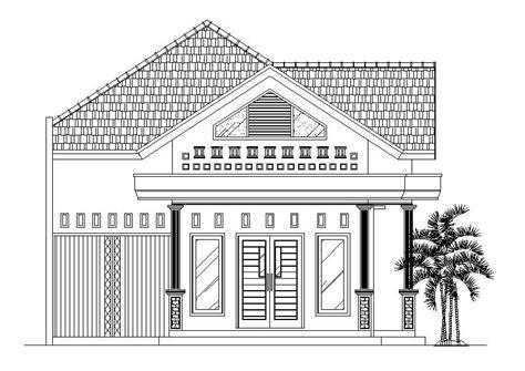 cara membuat gambar 3d sederhana dengan pensil bentuk rumah minimalis ukuran 10 215 13 rumah minimalisku