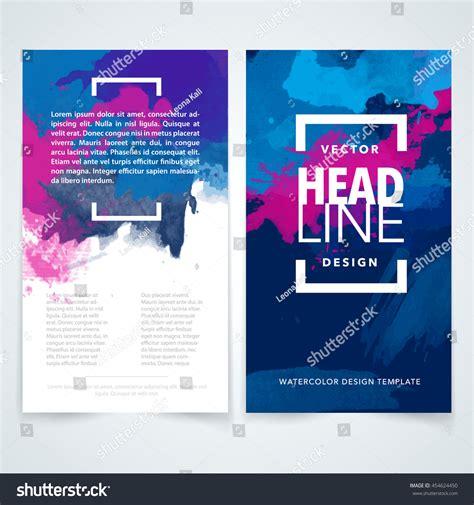 design elements for brochure vector design elements template business brochure stock