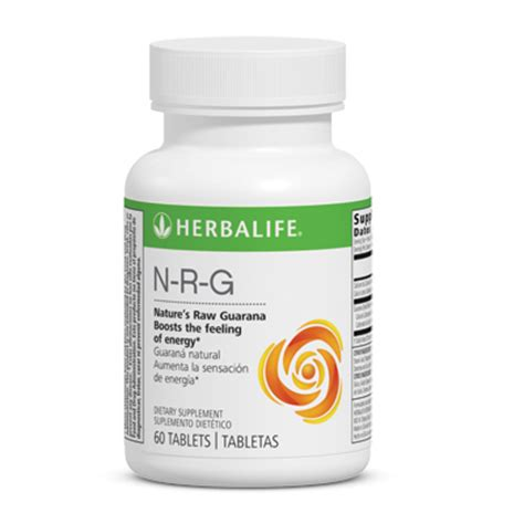 Herbalife N R G n r g nature s guarana tablets