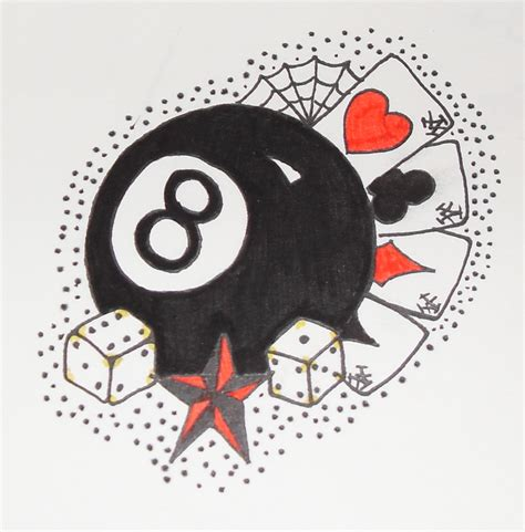 cards and dice tattoo designs collection of 25 cards n dice drawing