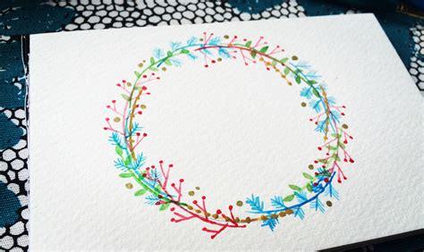 watercolor wreath tutorial floral watercolor wreaths tutorial life athon