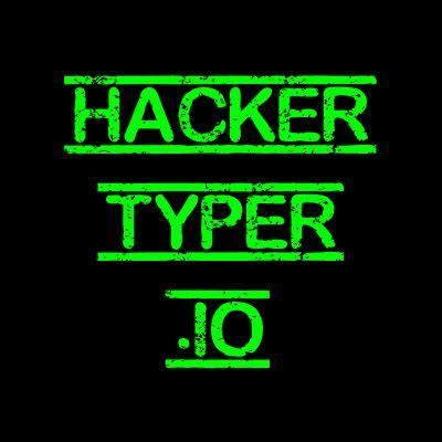 pin  hacker typer