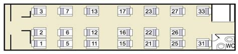 Sleeper Seat Layout by To Barcelona By With The Elipsos Trenhotel