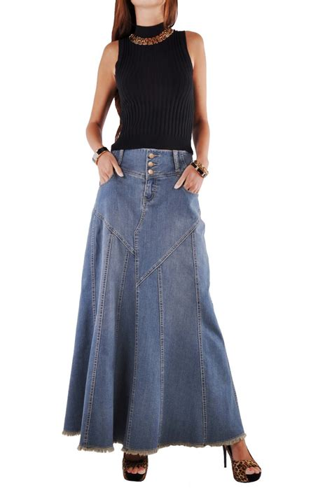 style j fantastic flared jean skirt reviews in skirts