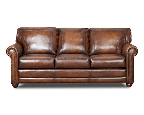 Leather Sofa With Studs Michigan S Largest Selection Leather Sofas Be Seated Leather Furniture