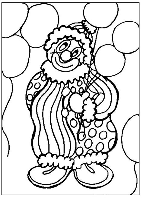 Clown Coloring Pages clowns coloring pages coloringpages1001