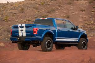 Ford F 150 Shelby Shelby Brings The Blue Thunder To Sema With 700hp F 150 Truck