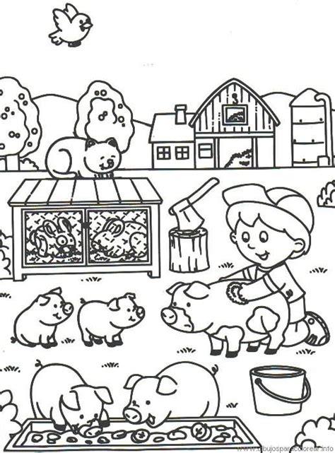 imagenes para colorear y describir alimentar a los animales dibujalia dibujos para