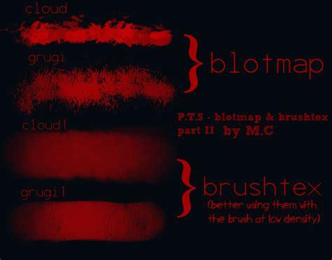 Paint Tool Sai Blotmap Brushtex Set Ii By K Og On Deviantart
