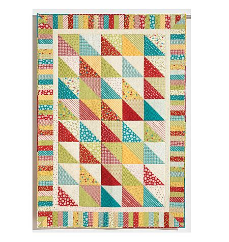Quilts In A Day by Dessert Time Quilt Pattern By Eleanor Burns Signature Quilt In A Day 1259 Easy