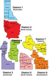 districts map health districts